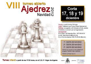 VIII Torneo Abierto de Ajedrez - Navidad 2012