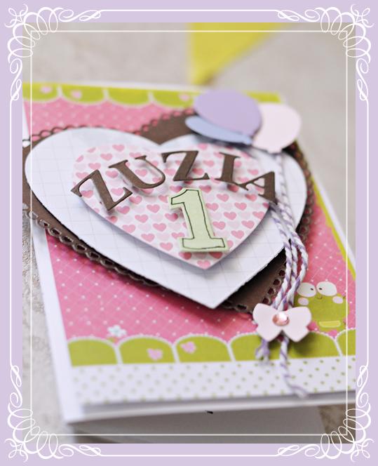 kartka, roczek, kartka urodzinowa, personalizowana kartka, roczek, dzidzia, urodzinki