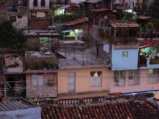 Santiago de Cuba view from terrace