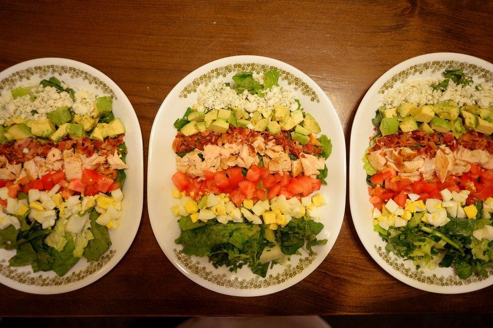 Un-Cobb Salad Recipe — Dishmaps