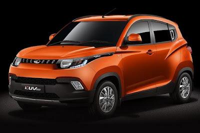 Mahindra KUV100 (2016) Front Side