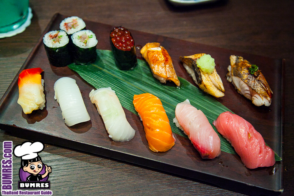 Restaurant review bangkok mostly all around the for Asia sushi bar and asian cuisine mashpee