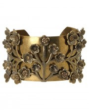 Trees of Life Brass Cuff - Cultural Elements