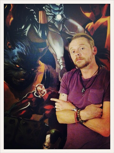 simon pegg to be antman