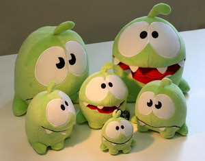Cut the Rope Toy Box update coming soon, Om Nom plush toys in Sept
