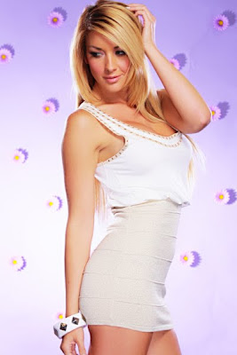 WHITE GOLD SLEEVELESS SHIMMER BANDAGE MINI DRESS