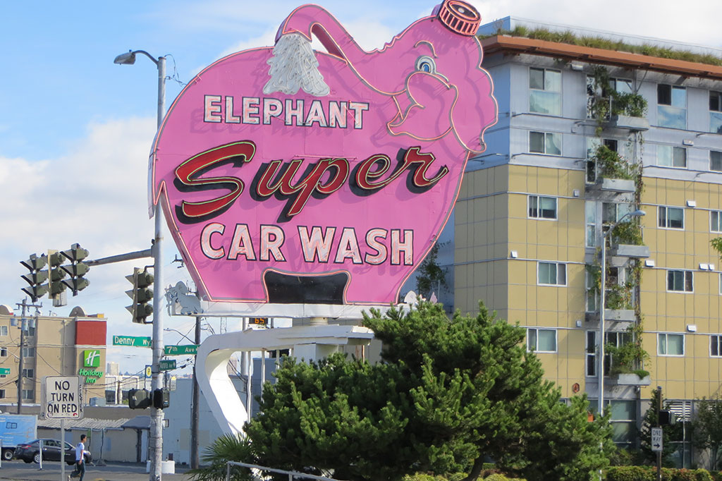 Elephant Super Car Wash in Seattle, Washington