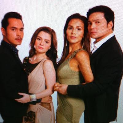 Kahit Puso'y Sinugatan Cast - Andi Eigenmann, Jake Cuenca, Gabby Concepcion and Iza Calzado