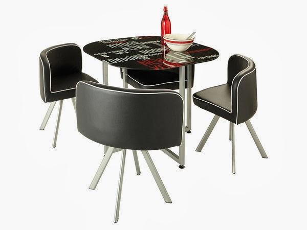 Sala de jantar com charme vintage decora o e ideias for Mesa redonda conforama