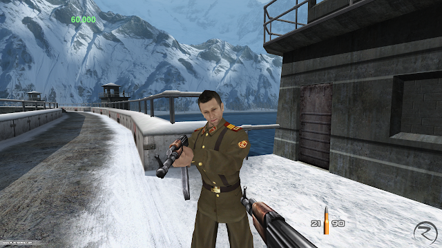 Screenshot of HD version of GoldenEye for Xbox Live Arcade