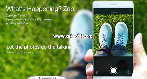 Comparte tu dia usando la nueva aplicación de Zap para KakaoTalk