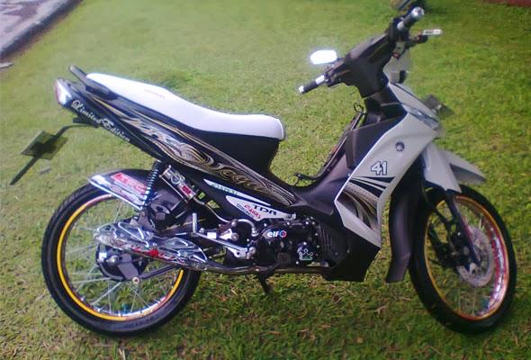 Modifikasi Yamaha Vega ZR Velg Jari-Jari | Koleksi Gambar Keren