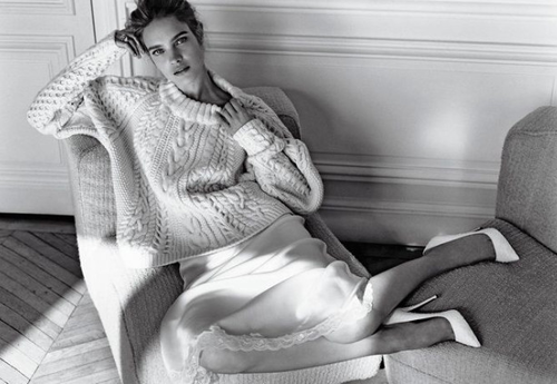 Natalia Vodianova Model Fall Winter 2013 Turtleneck