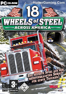 Free Download 18 Wheels of Steel Across America Pc Game Cover Photo