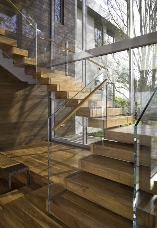 30 Wooden Types of Stairs for Modern Homes