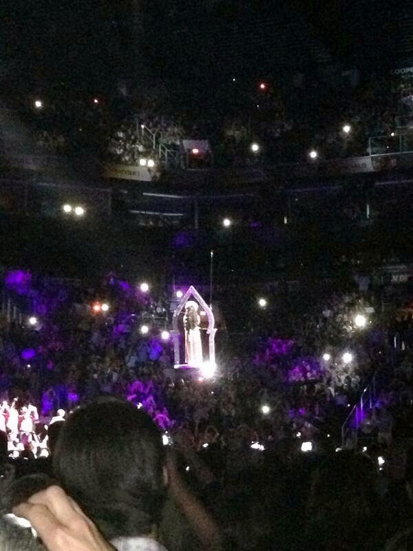 Cher during her 'Dressed To Kill Tour'