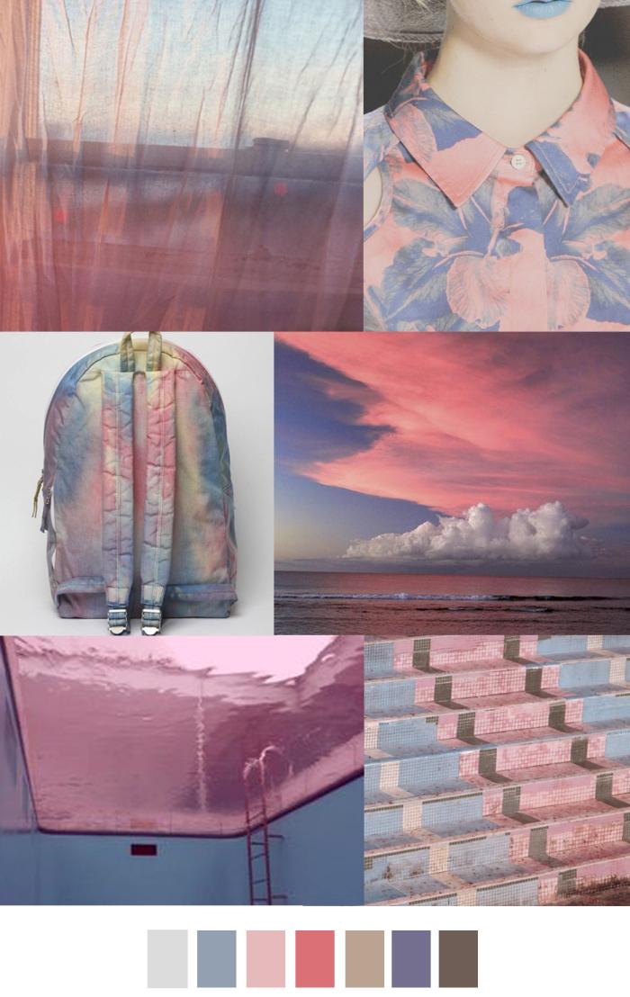 2017 fashion trends wgsn - Fashion Vignette Trends Pattern Curator Print