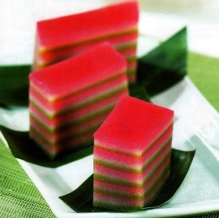 Resep Kue Lapis Warna Warni