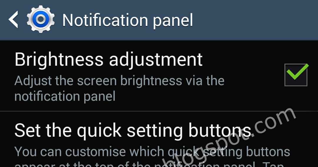 Inside Galaxy: Samsung Galaxy S4: How to Customize Notification Panel