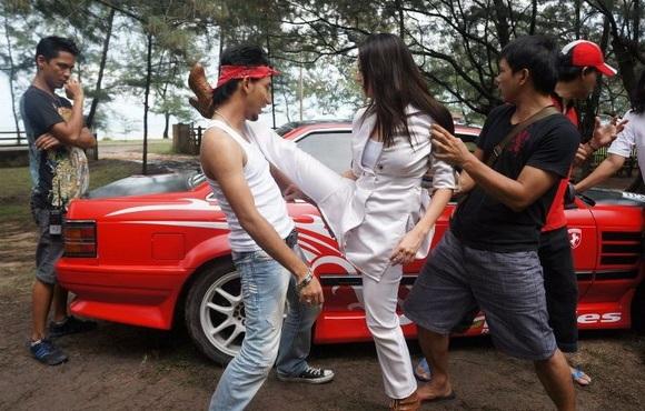 Gambar babak filem Mael Lambung