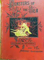 Cover of: Monsters of the sea, legendary and authentic