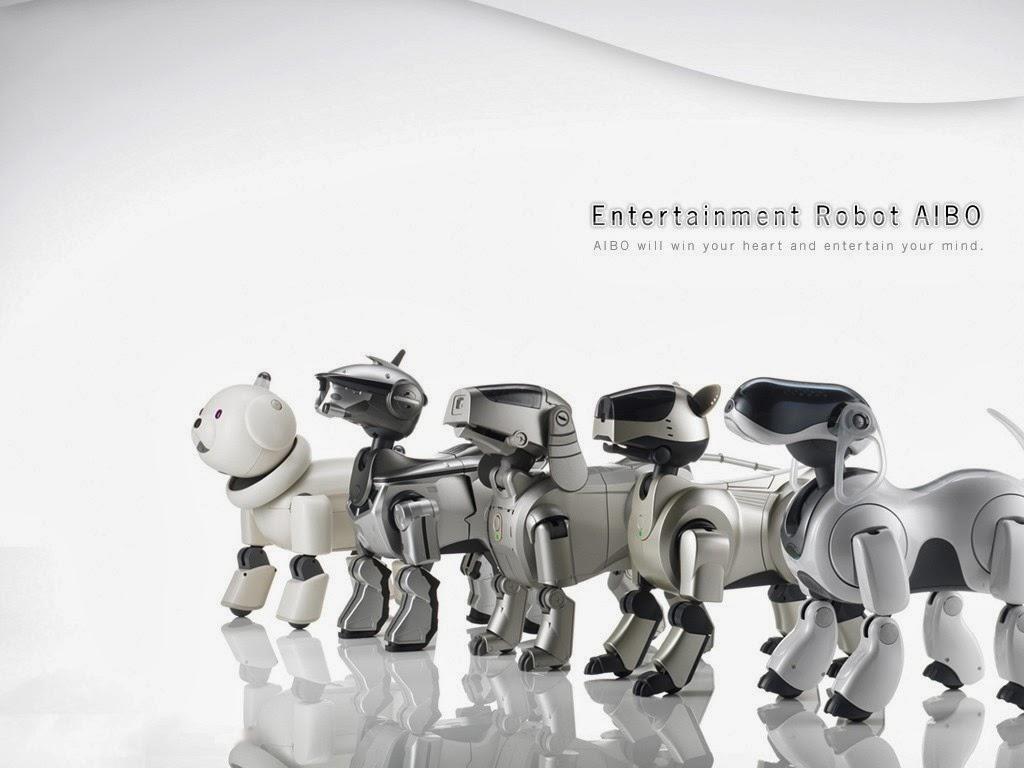 Los primero cachorros robóticos