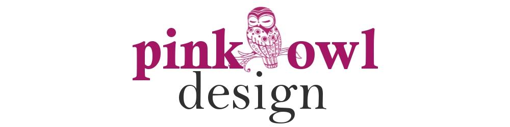 pink owl design