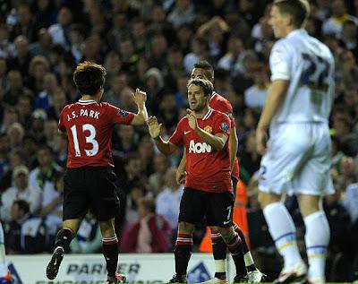Leeds United 0 - 3 Manchester United (1)