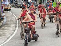 Sepeda Unik dari Kayu Asal Suku di Filipina