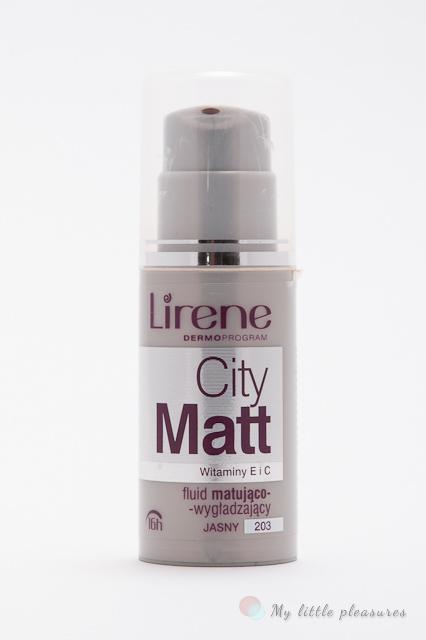 Lirene City Matt - Fluid matująco-wygładzający