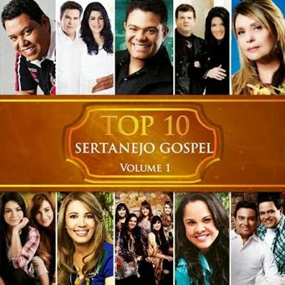 Cd Top 10 Sertanejo Gospel Vol 1
