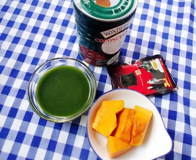 Cách làm bánh trung thu rau câu vị lá dứa nhân cà phê 1
