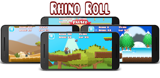 Rhino Roll on GooglePlay
