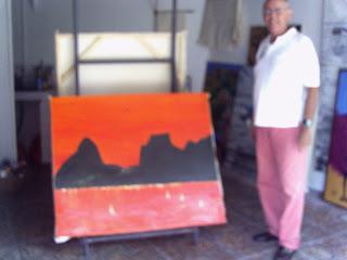 Clameli - Rio Vermelho - Acrílico s/ tela