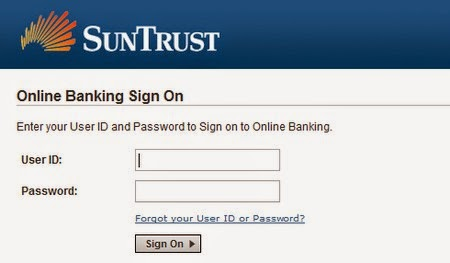 suntrust bank online banking sign up
