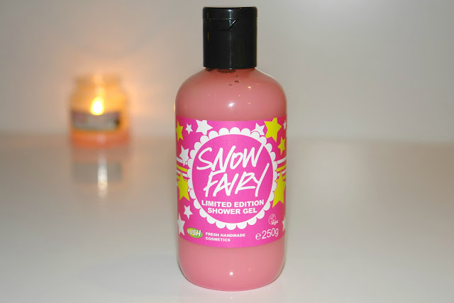 LUSH Snow Fairy Shower Gel review, beauty, Lush, review, limited edition, UK blogger beauty
