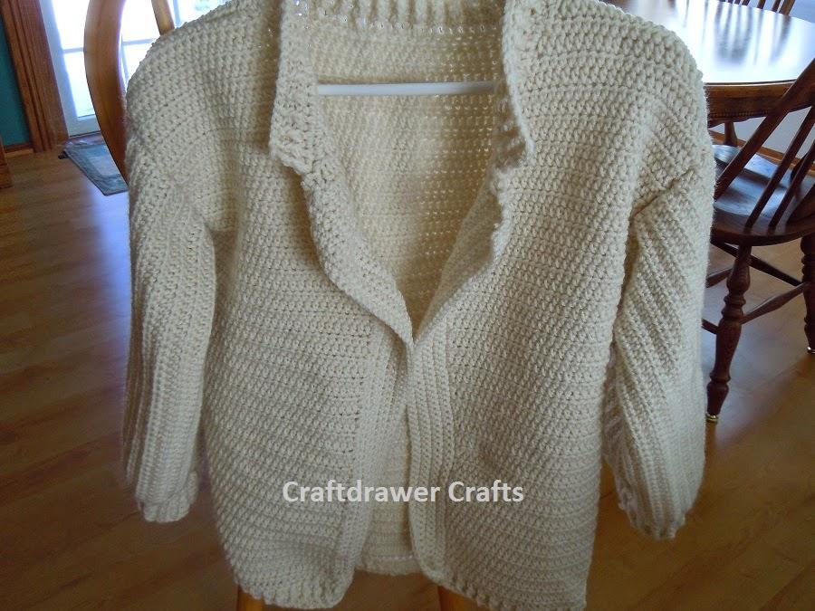 Crochet Winter Cardigan Sweater Patterns For Women
