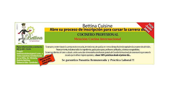 Escuela de gastronom a profesional bettina cuisine - Curso de cocina profesional ...