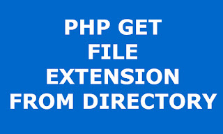 php files extensions