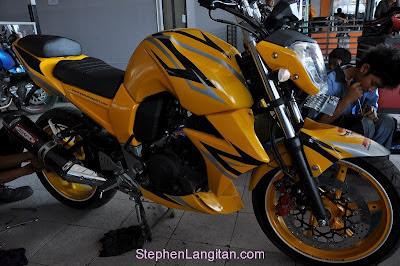 Itulah beberapa gambar modifikasi motor Yamaha byson yang dapat saya
