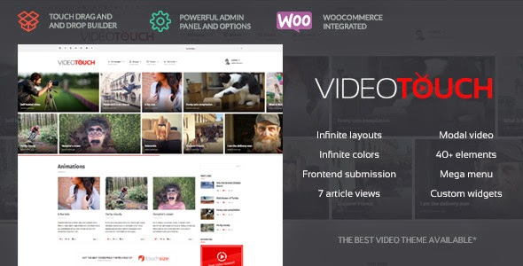 VideoTouch - Themeforest Video WordPress Theme