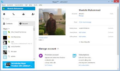 Skype dapat meningkatkan Bahasa Inggris kita