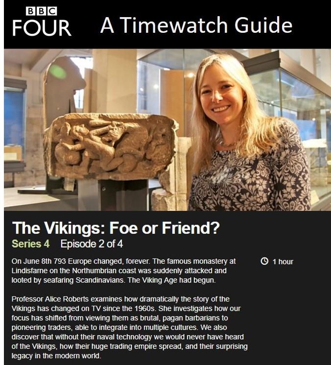 Timewatch: Vikingler