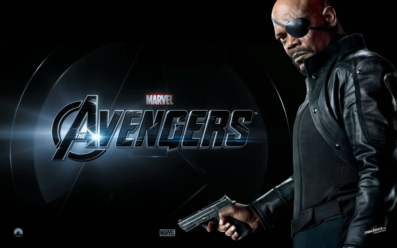 Nick Fury in the Avengers Wallpaper HD