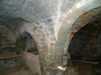 Interior del Mas d'Olzinelles