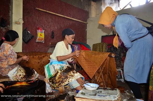 Kampung Wisata Batik Pesindon