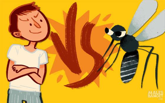 4 Tipe Sikap Orang dalam Menghadapi Nyamuk