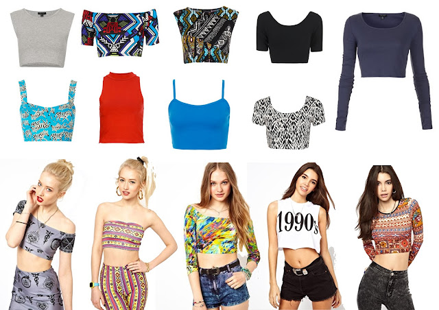 crop top, topshop crop,printed crop, 90's crop