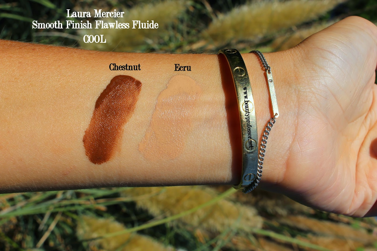 laura mercier fluide foundation swatches