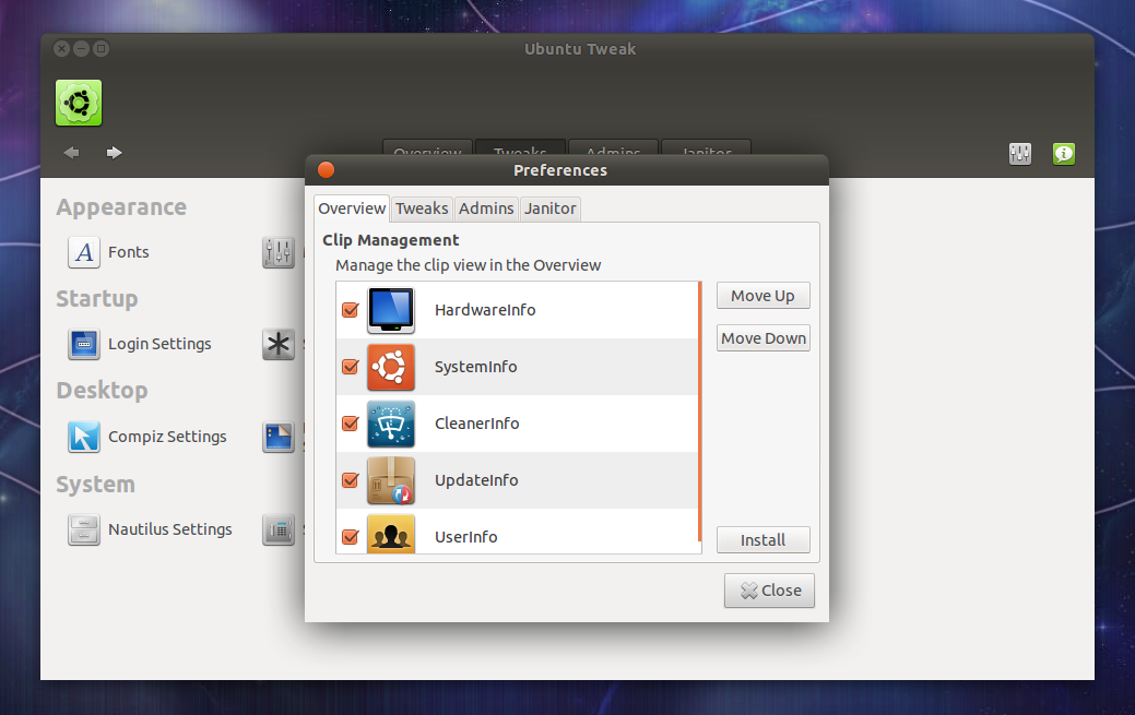 Ubuntu 14.04 tweaks